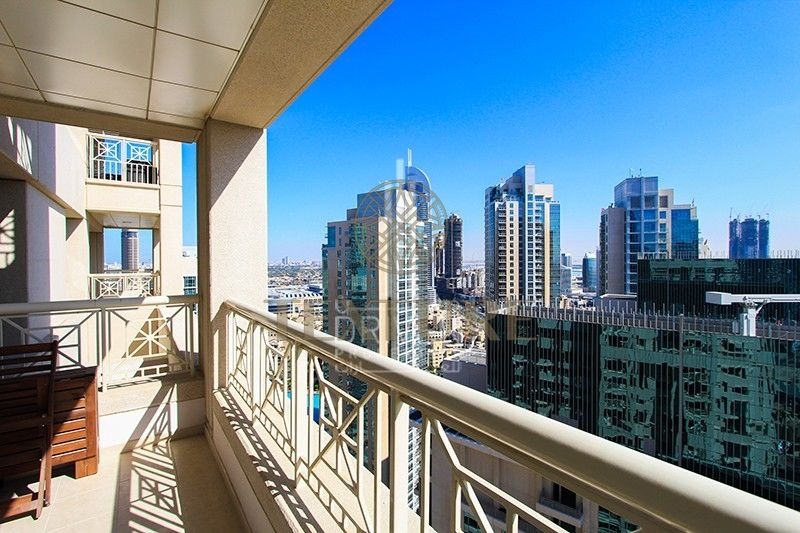 Fully Furnished 1br In 29 Blvd With Downtown View