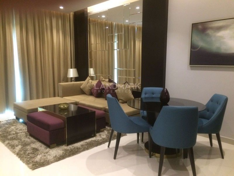 Fully Furnished 1 Bedroom Hotel Apartment Near Dubai Mall
