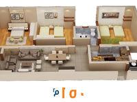 3 Bedroom Apartment in Haram-photo @index
