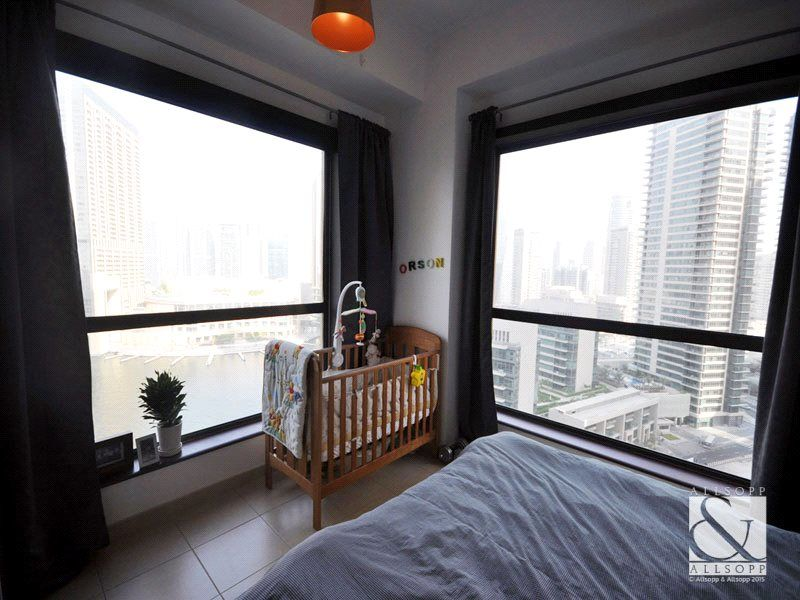Furnished 1 Bedroom Full Marina View