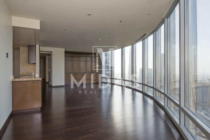 Vacant 1br Apartment With Fountain View In Burj Khalifa