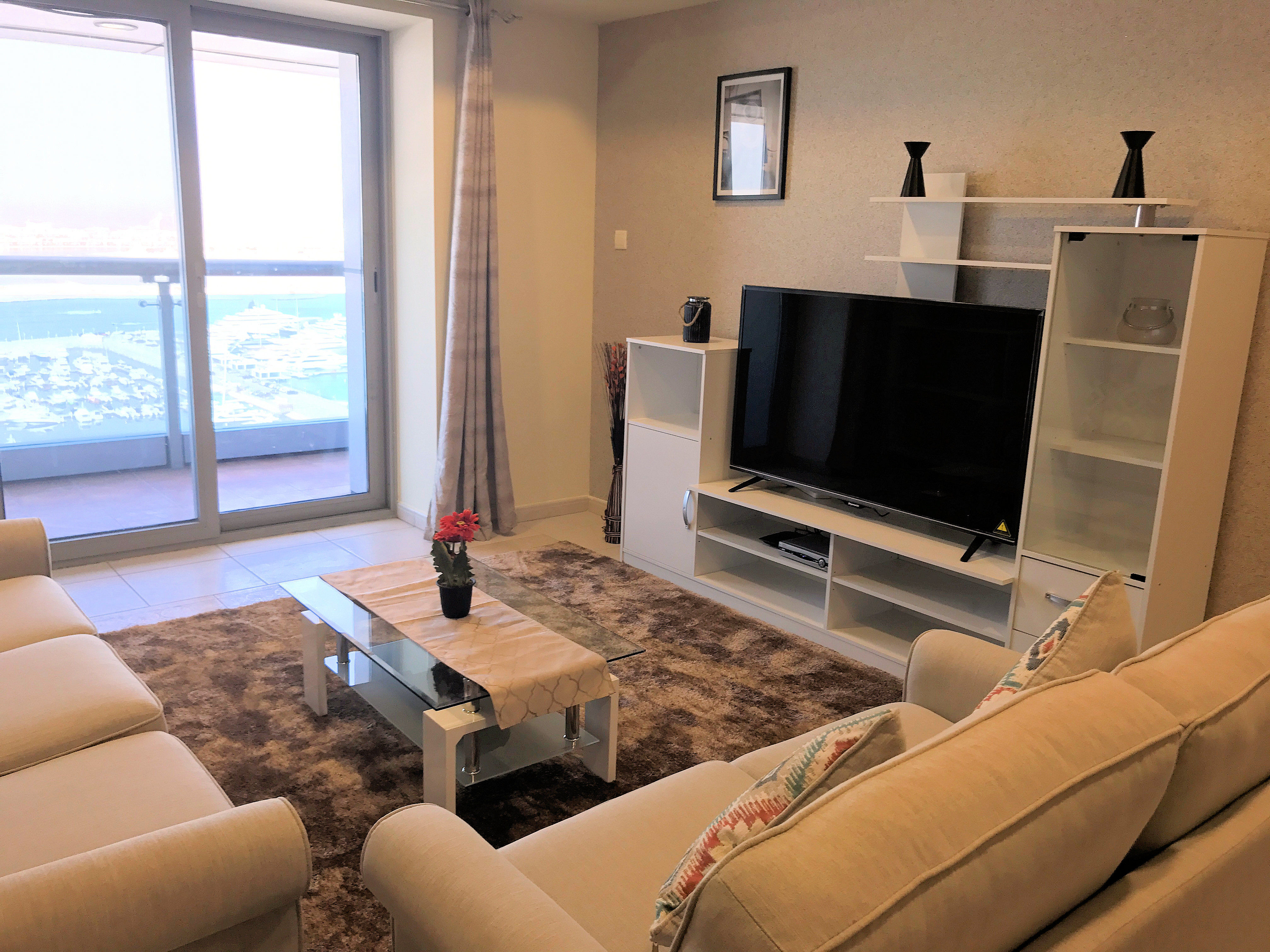 Beautiful 2 Bedroom Furnished Sea View Apartment In Princess Tower Marina Du