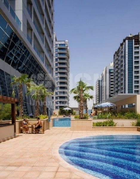 Fully Furnished 1 Bedroom Apartment For Rent In The Diamond Tower Dubai Sports City