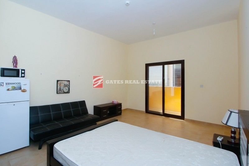 FULLY FURNISHED LARGE STUDIO WITH AMAZING VIEW & BALCONY...