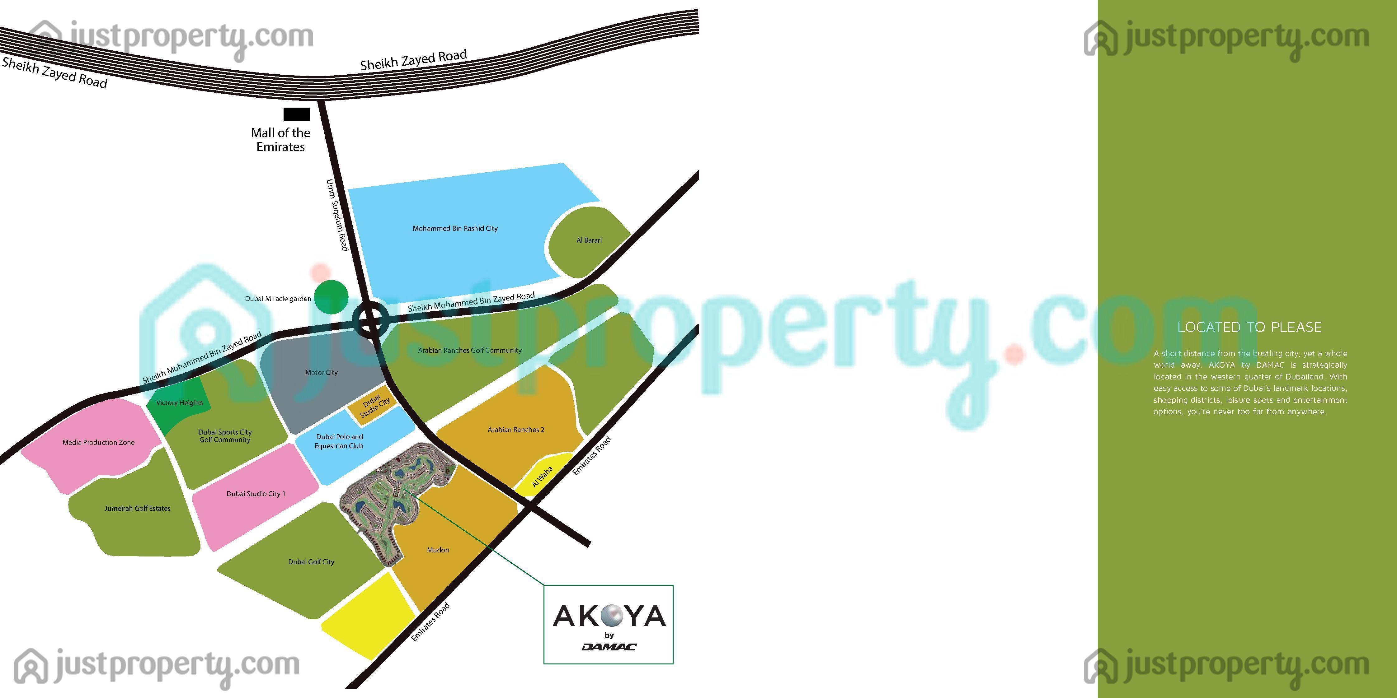 Floor Plans for Akoya
