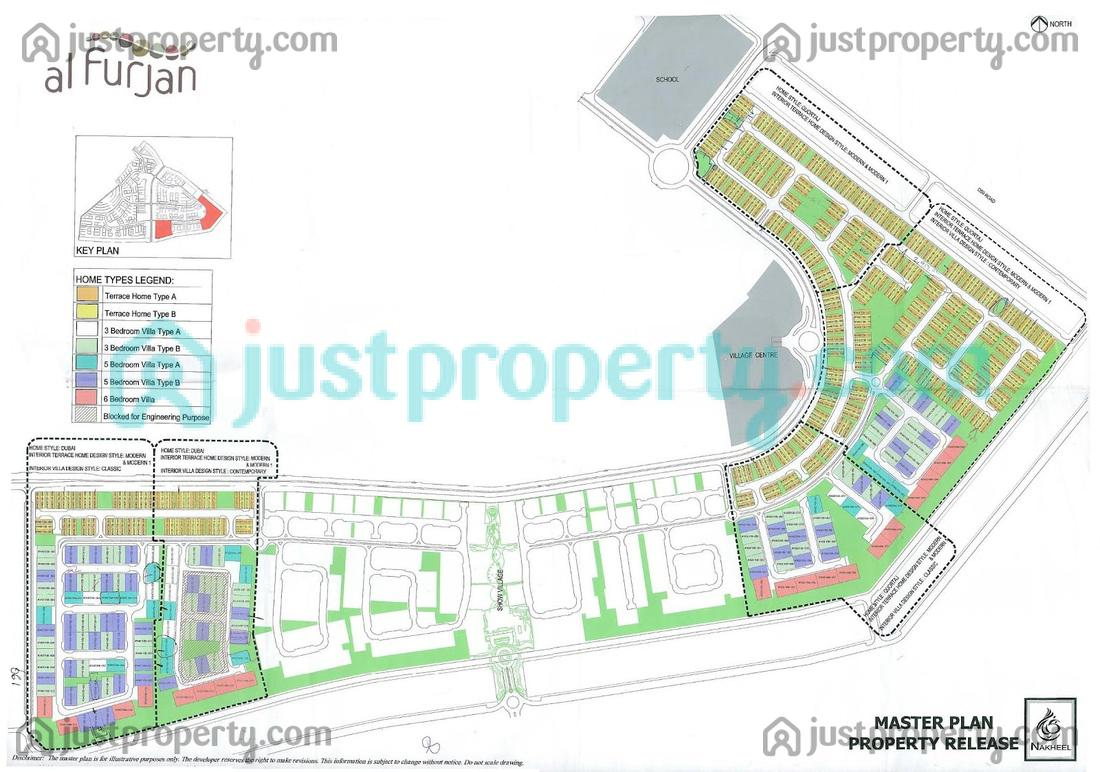 Al Furjan Floor Plans Justproperty Com