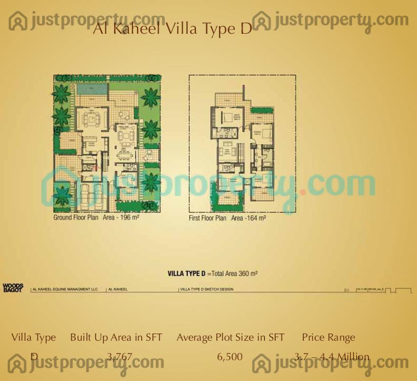 Floor Plans for Al Kaheel