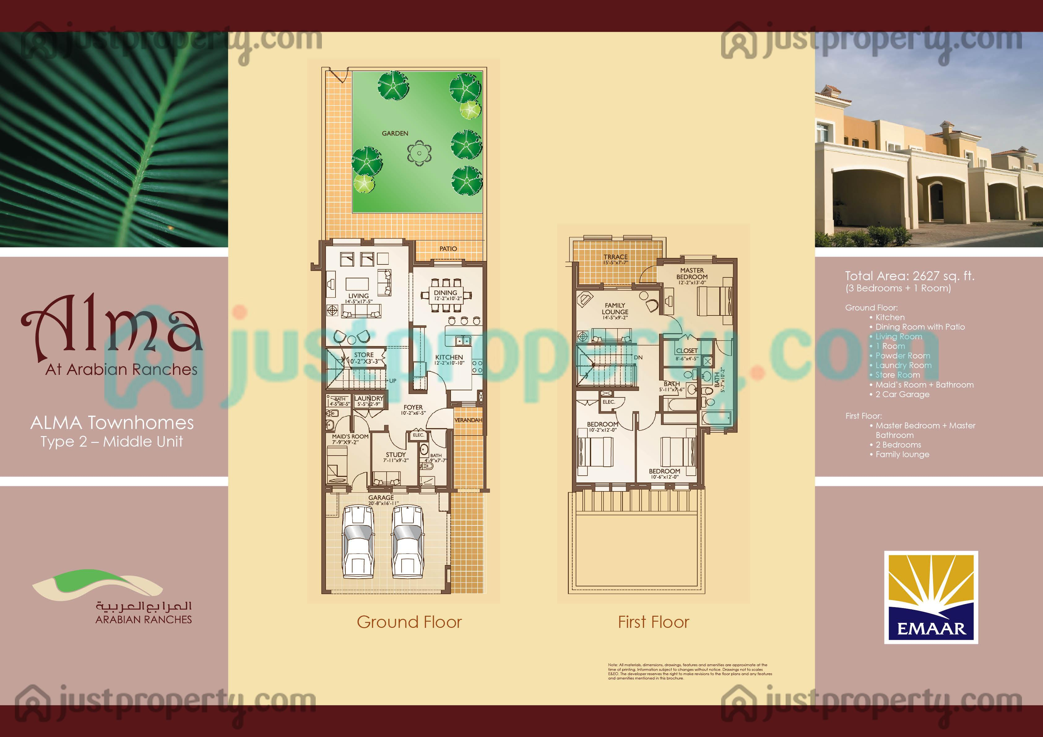 Alma 1 Floor Plans Justproperty Com
