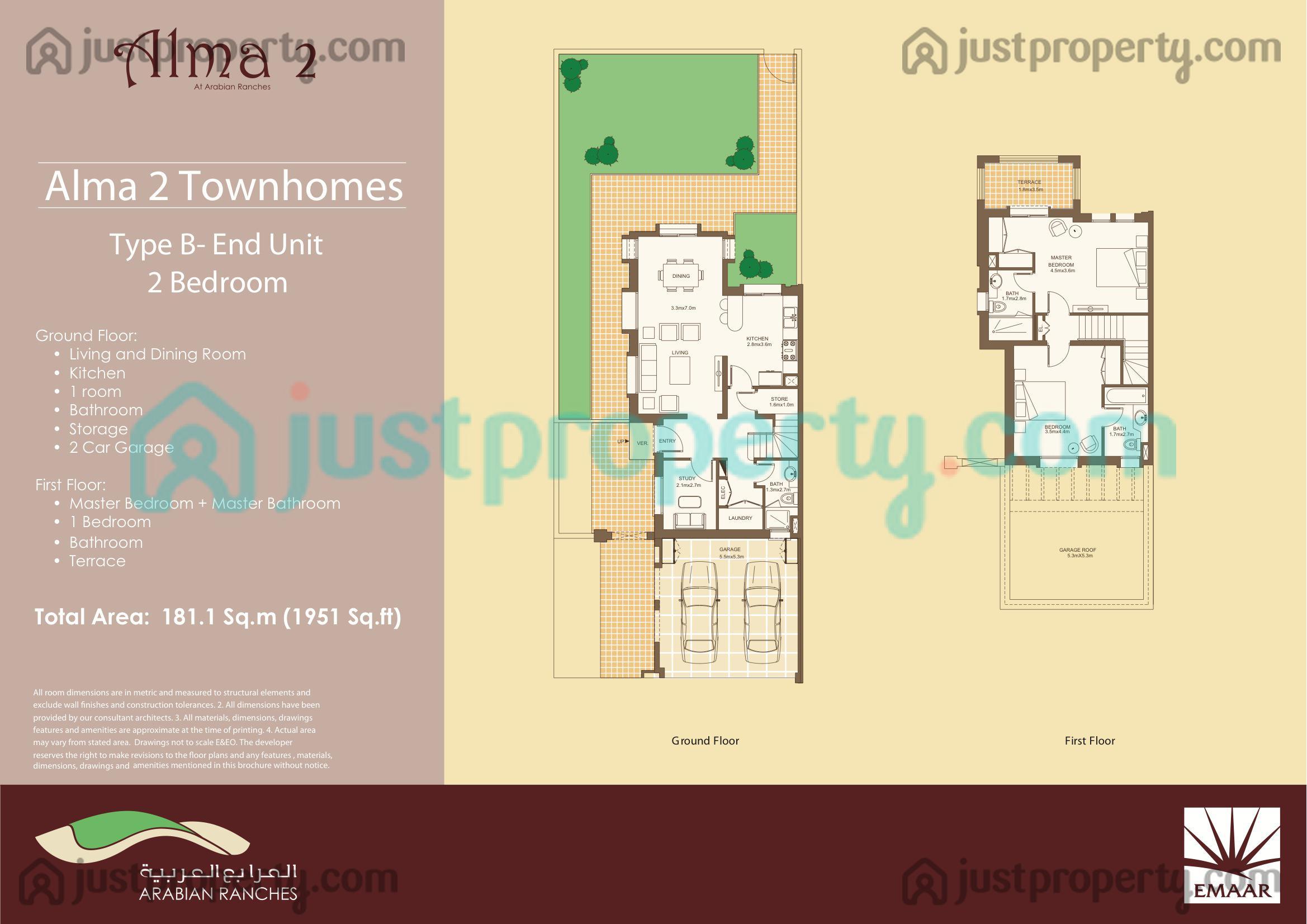 Alma 2 Floor Plans Justproperty Com