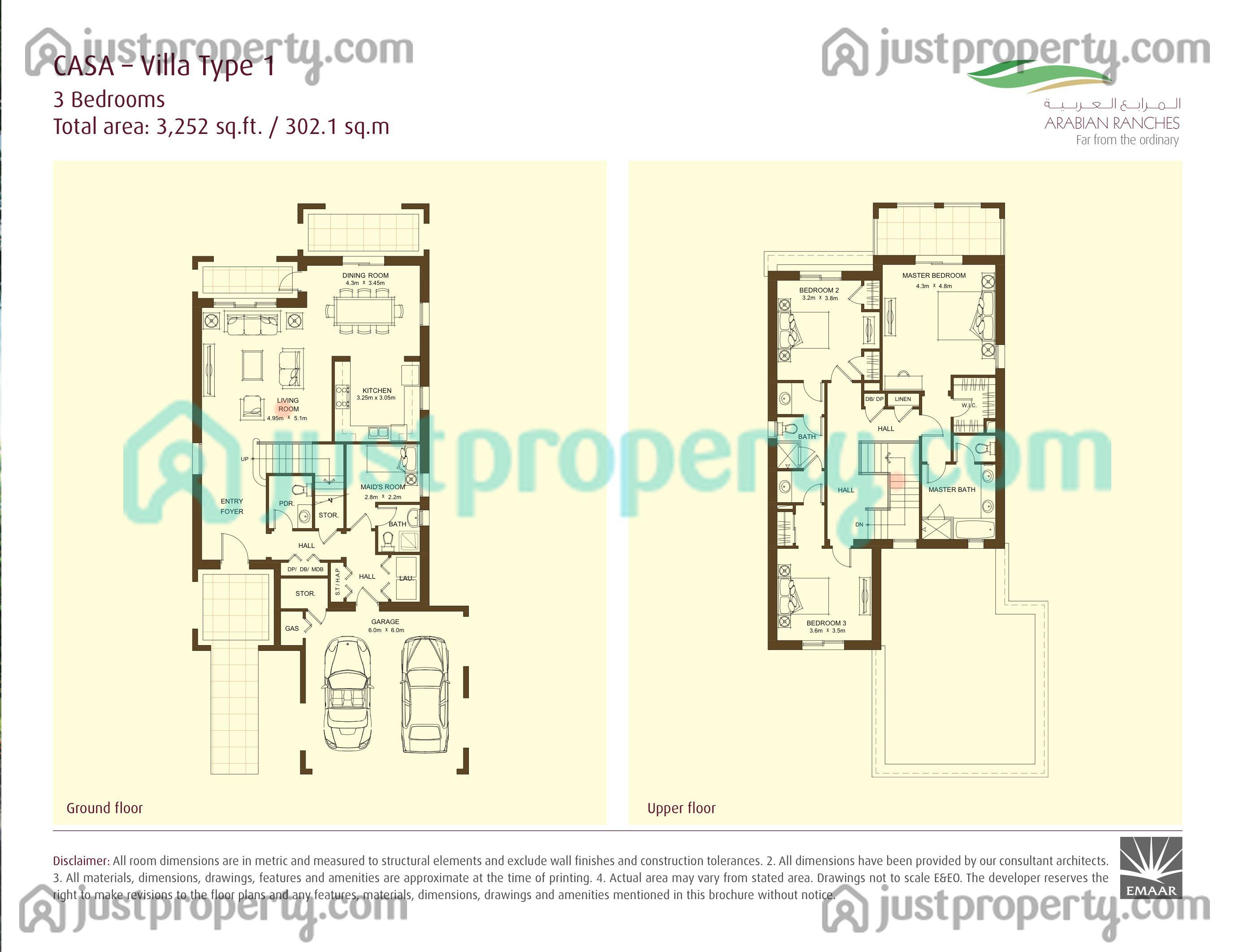 Casa floor plans for Casa floor