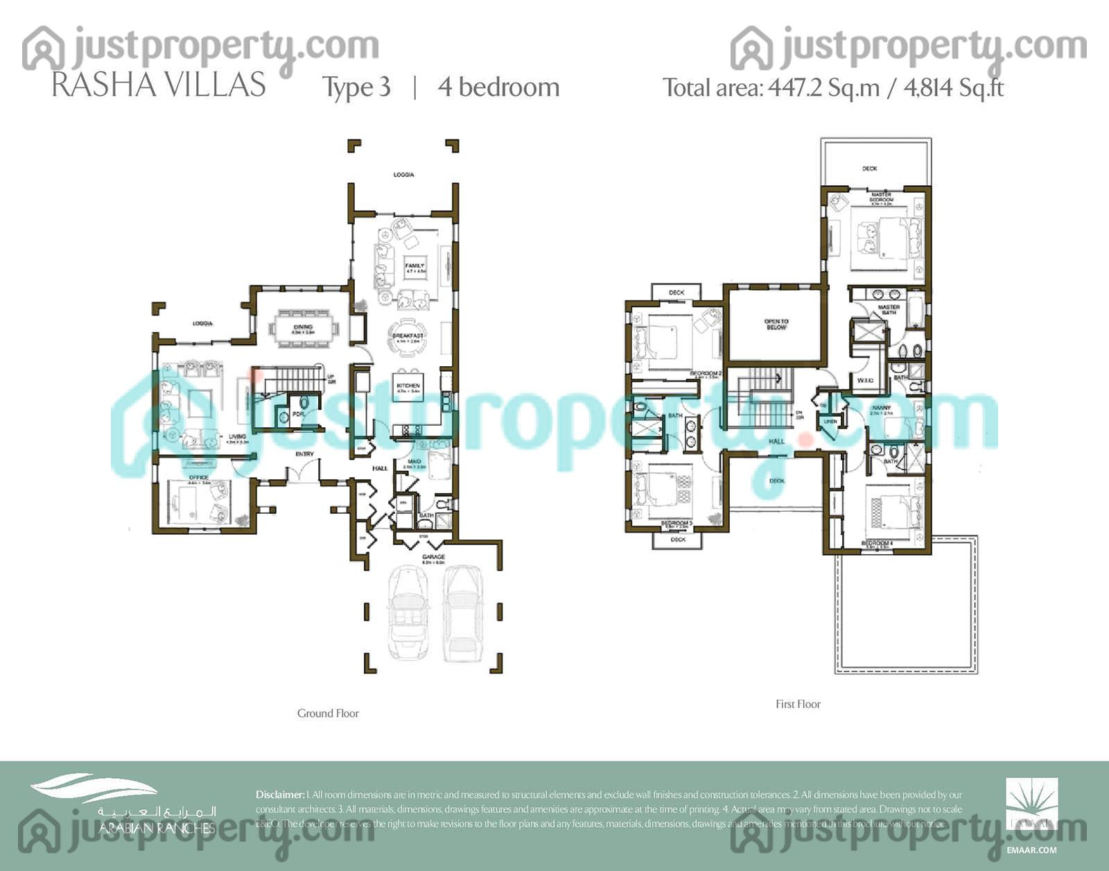 Rasha floor plans for 5br house plans