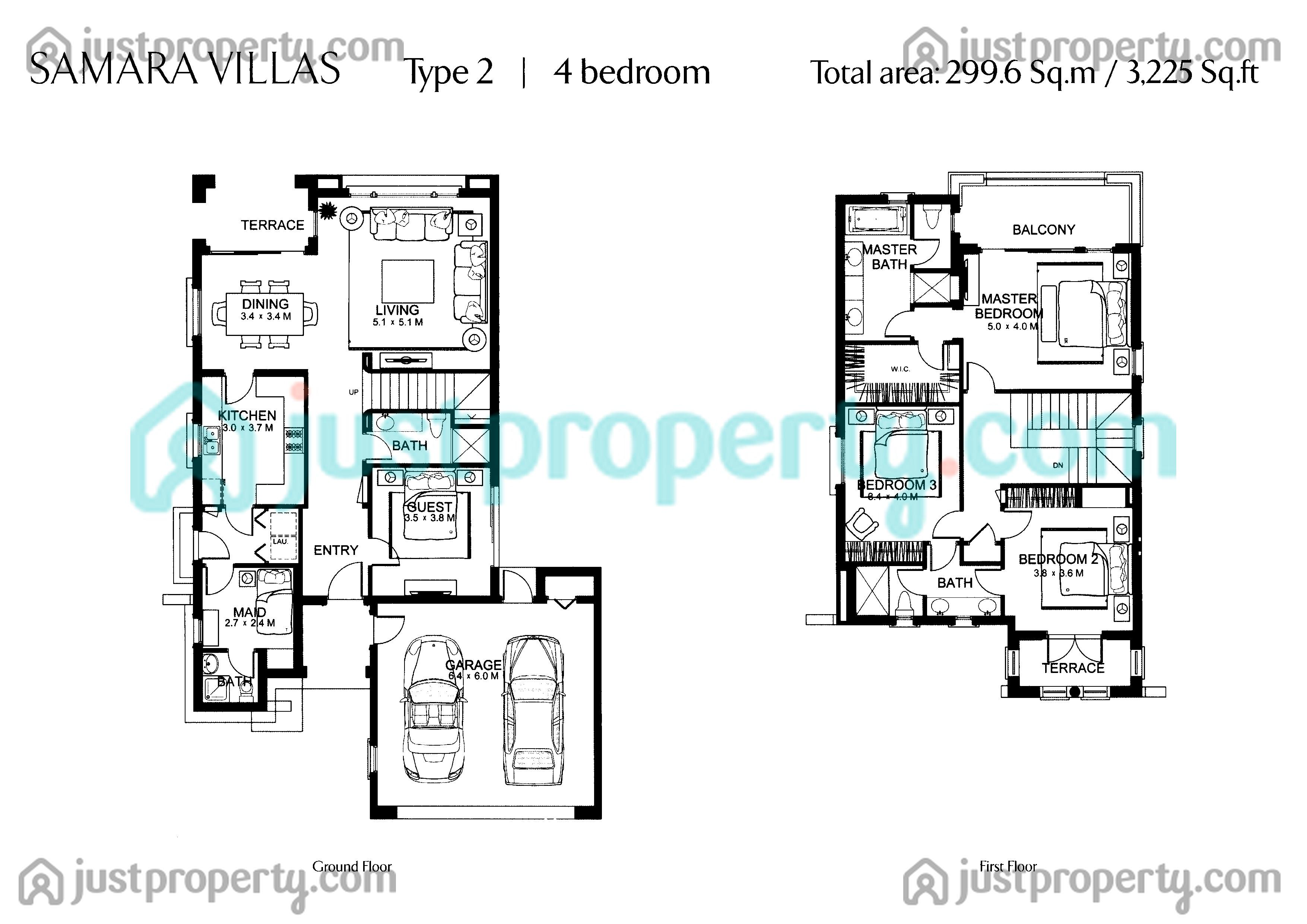 5br House Plans