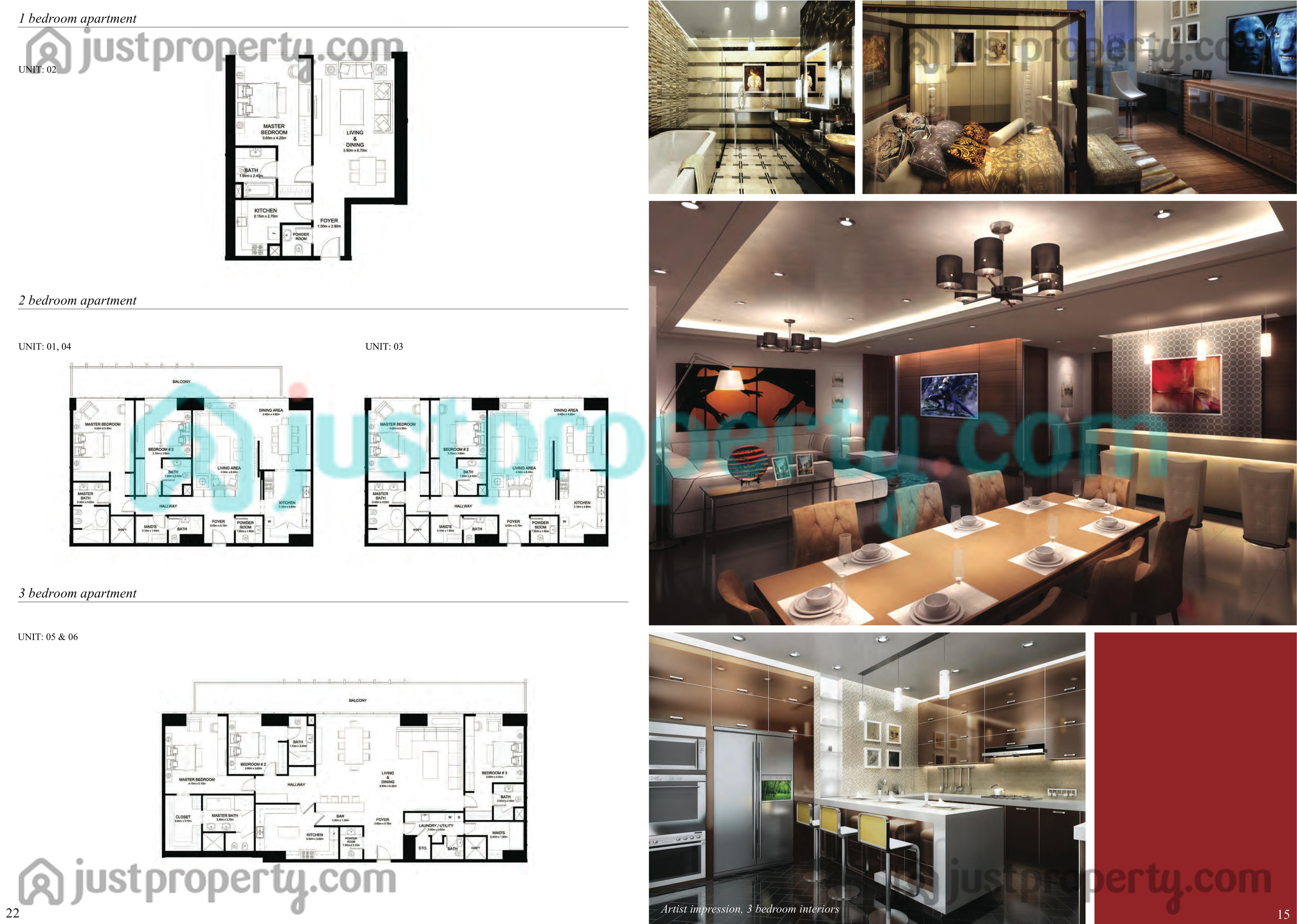 Burj Pacific Floor Plans | JustProperty.com