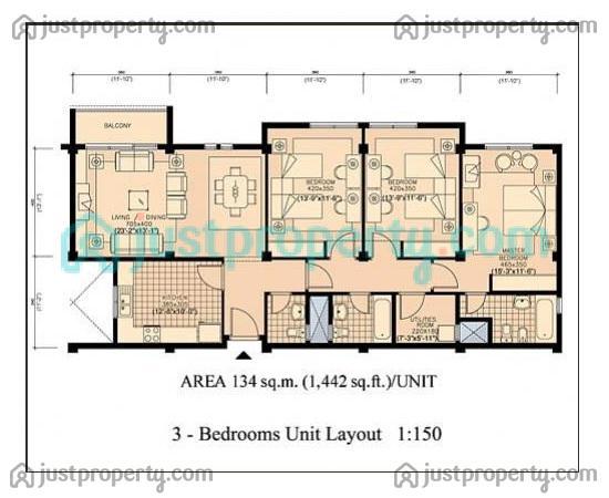 Amazing The Gardens Floor Plan Contemporary - Best Modern House ...