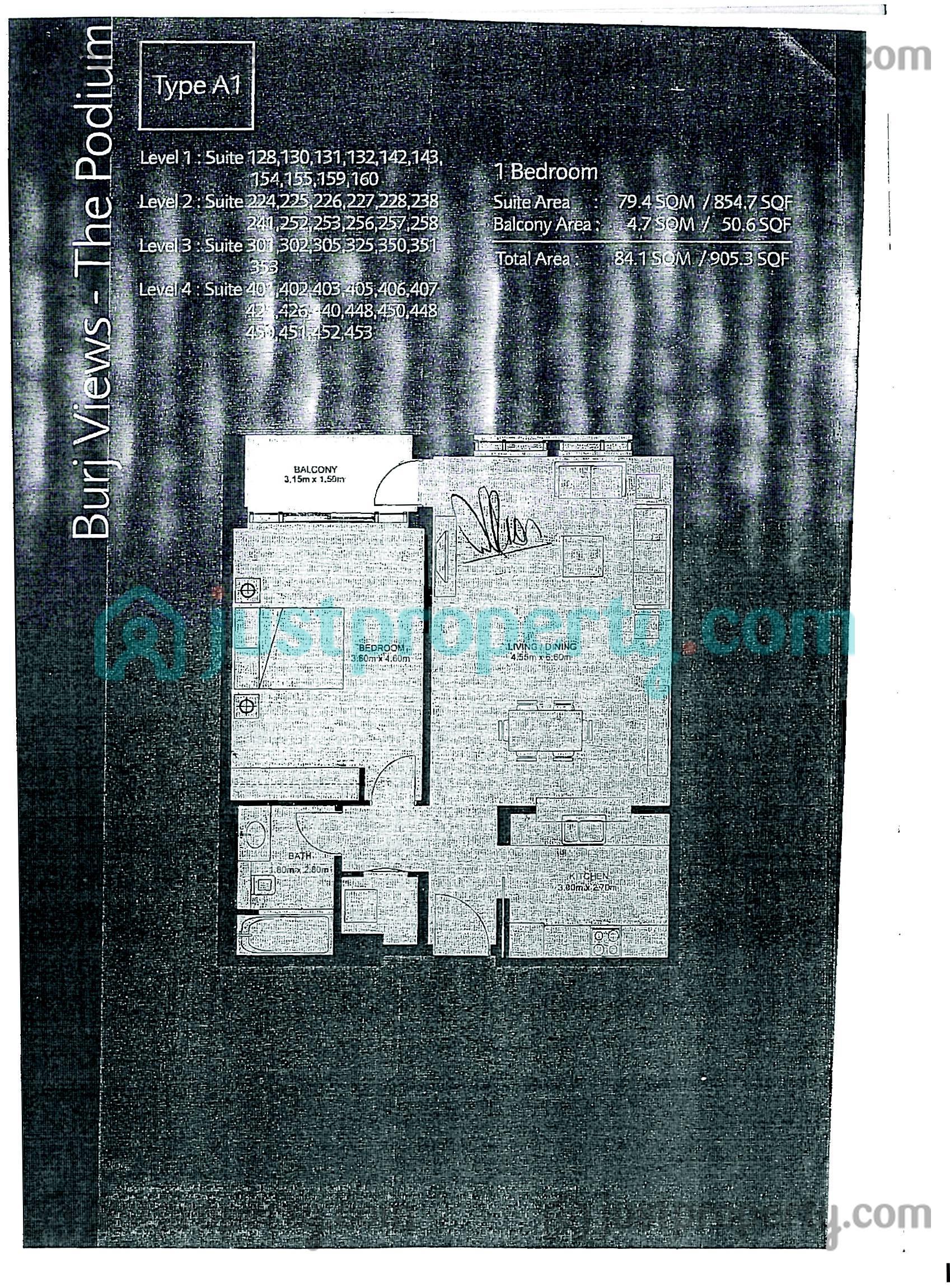 Podium Floor Plans Justproperty Com