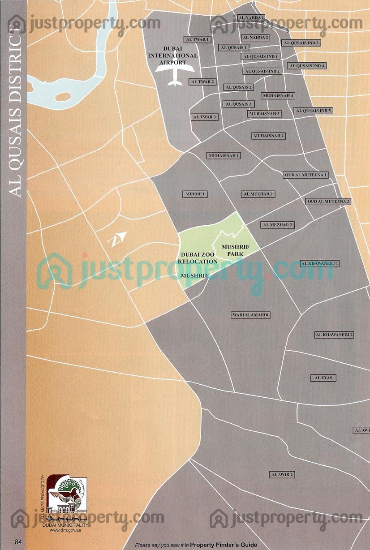 Dubai District Maps Floor Plans Justproperty Com
