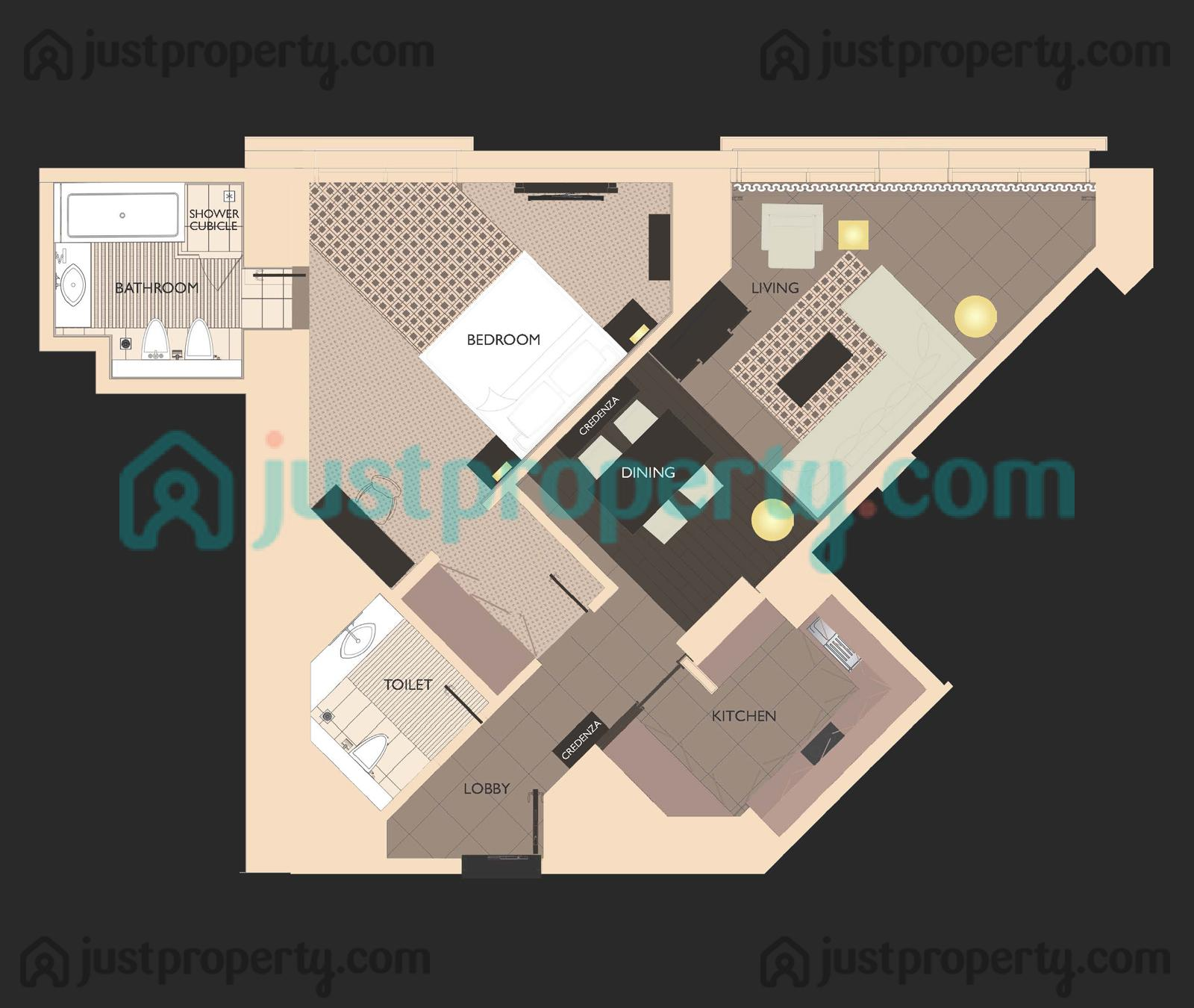 Regency Place Apartments: HYATT Regency Creek Heights Residences Floor Plans