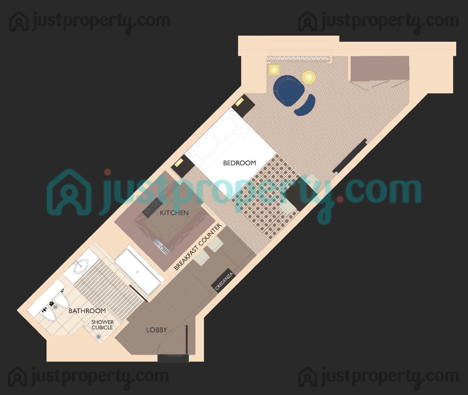 Hyatt Regency Creek Heights Residences Floor Plans