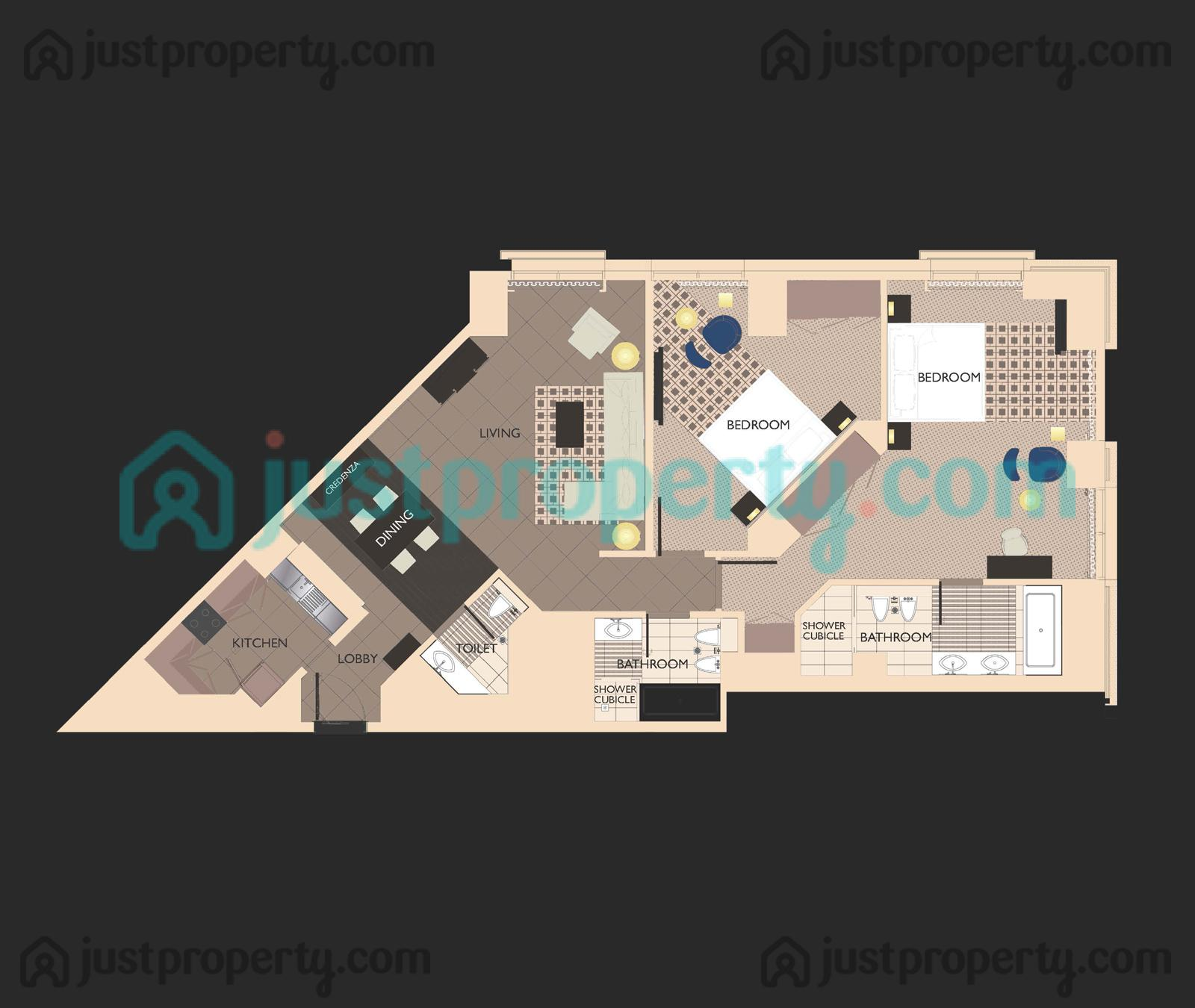 Hyatt Regency Creek Heights Residences Floor Plans