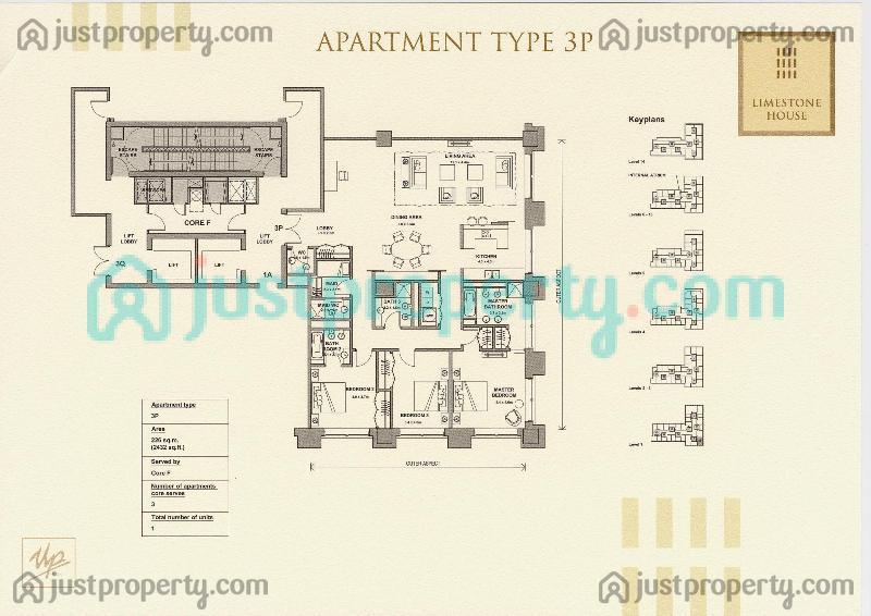 Limestone House Floor Plans