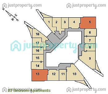 Floor Plans for Sky Gardens