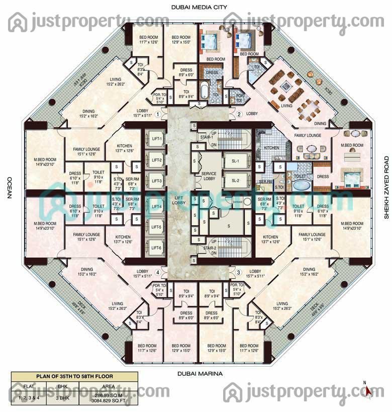23 Marina Floor Plans Justproperty Com