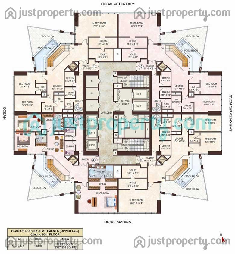 23 Marina Floor Plans Justproperty Com