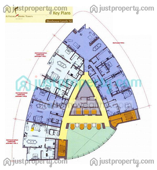 Al Arab Floor Plans Al Fattan Marina Towers Floor Plans
