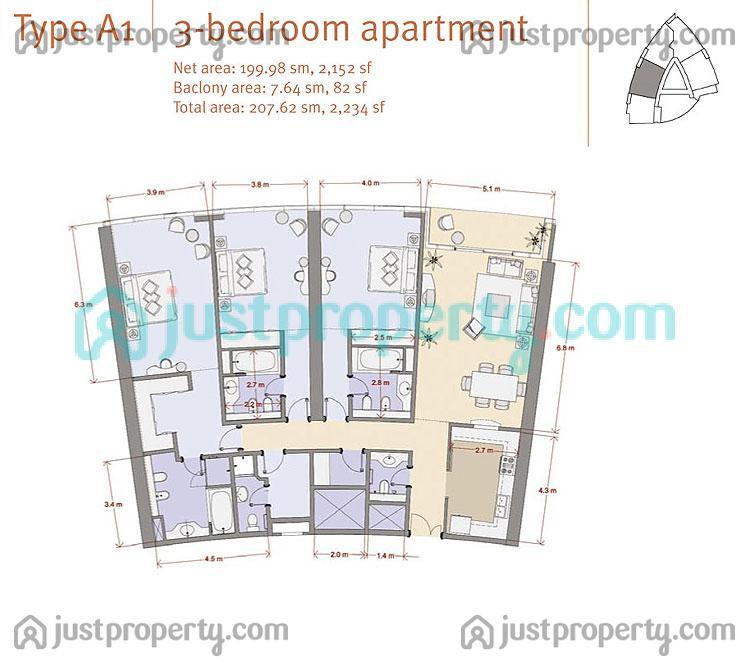 Al fattan marina towers floor plans for House plans in dubai