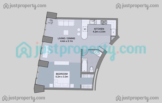 cayan infinity tower floor plans justproperty com