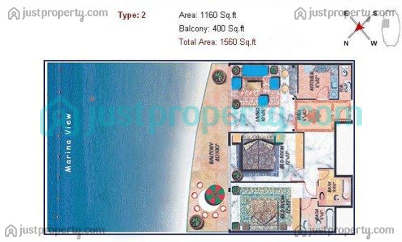 Floor Plans for Dreams Tower