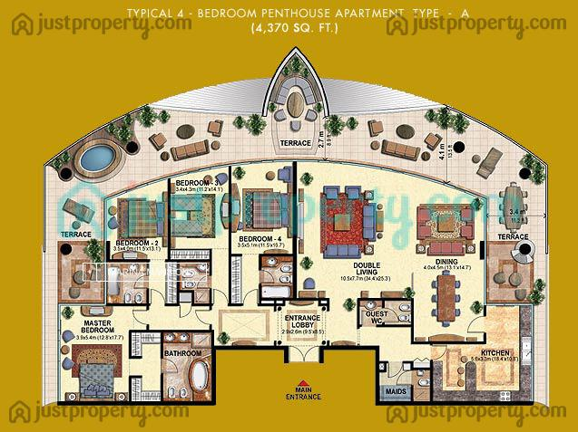 Floor Plans For Marina Mansions