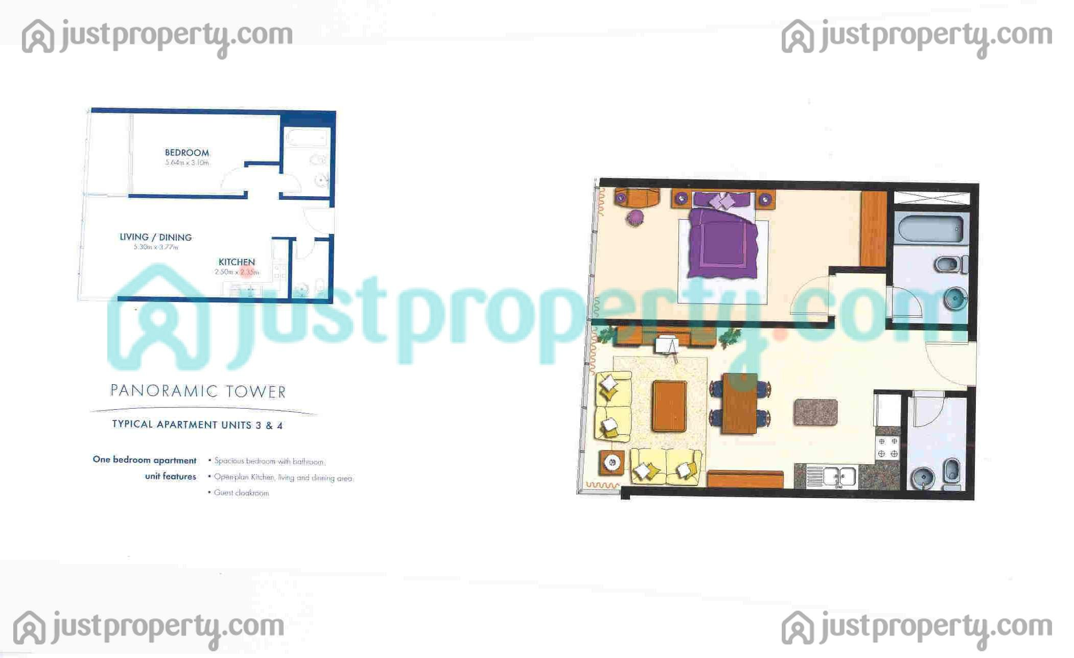 Floor Plans for Panoramic