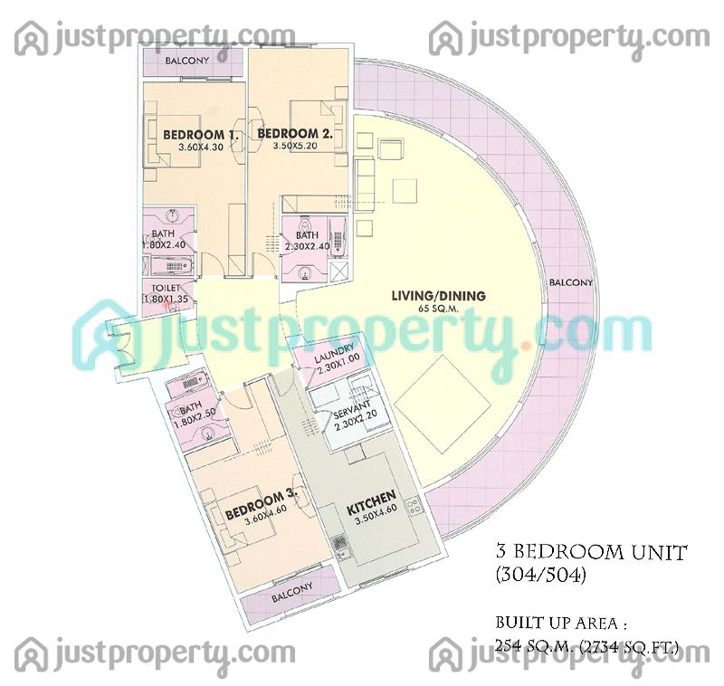 Floor Plans for The Belvedere