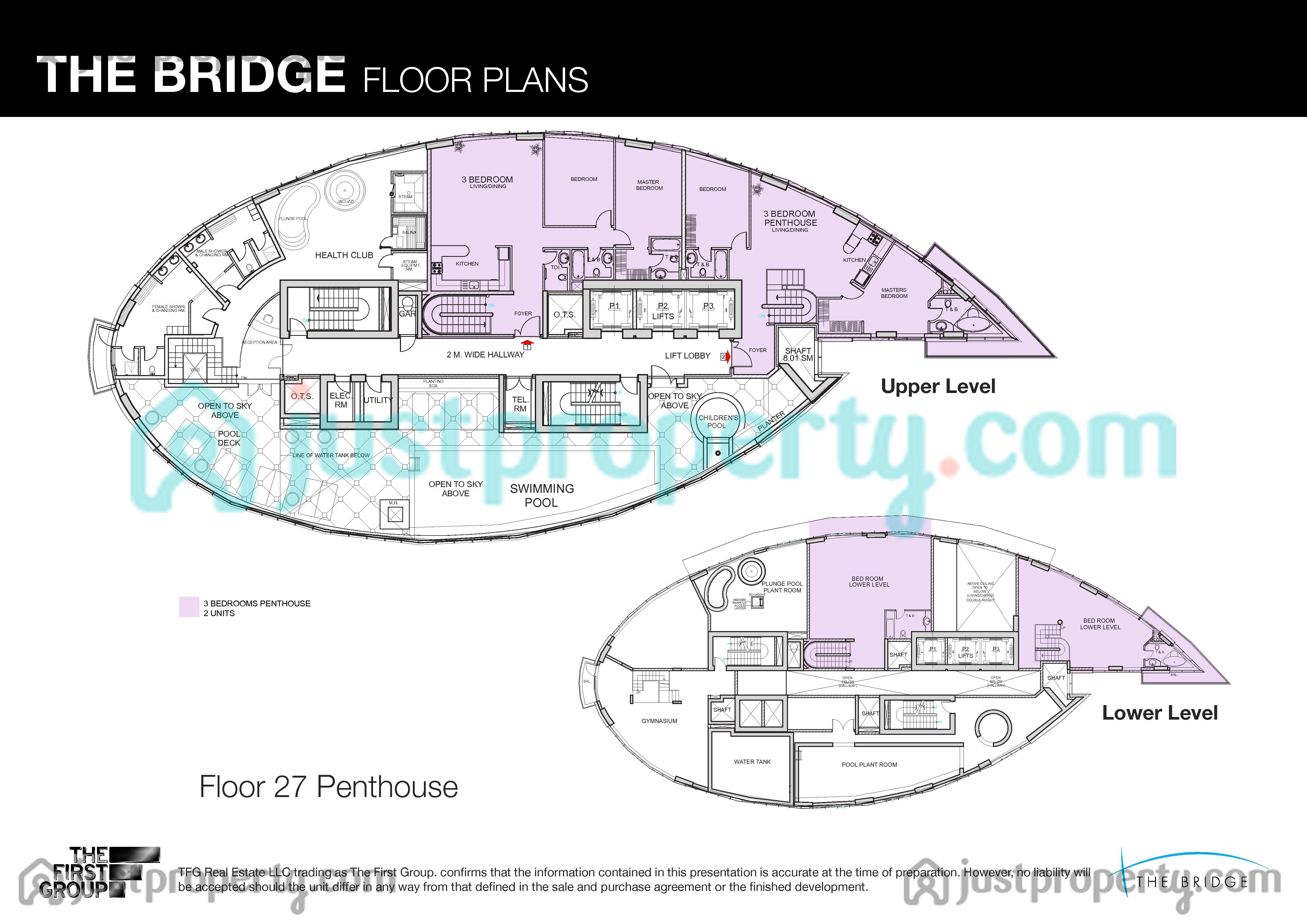 The Bridge Floor Plans Justproperty Com