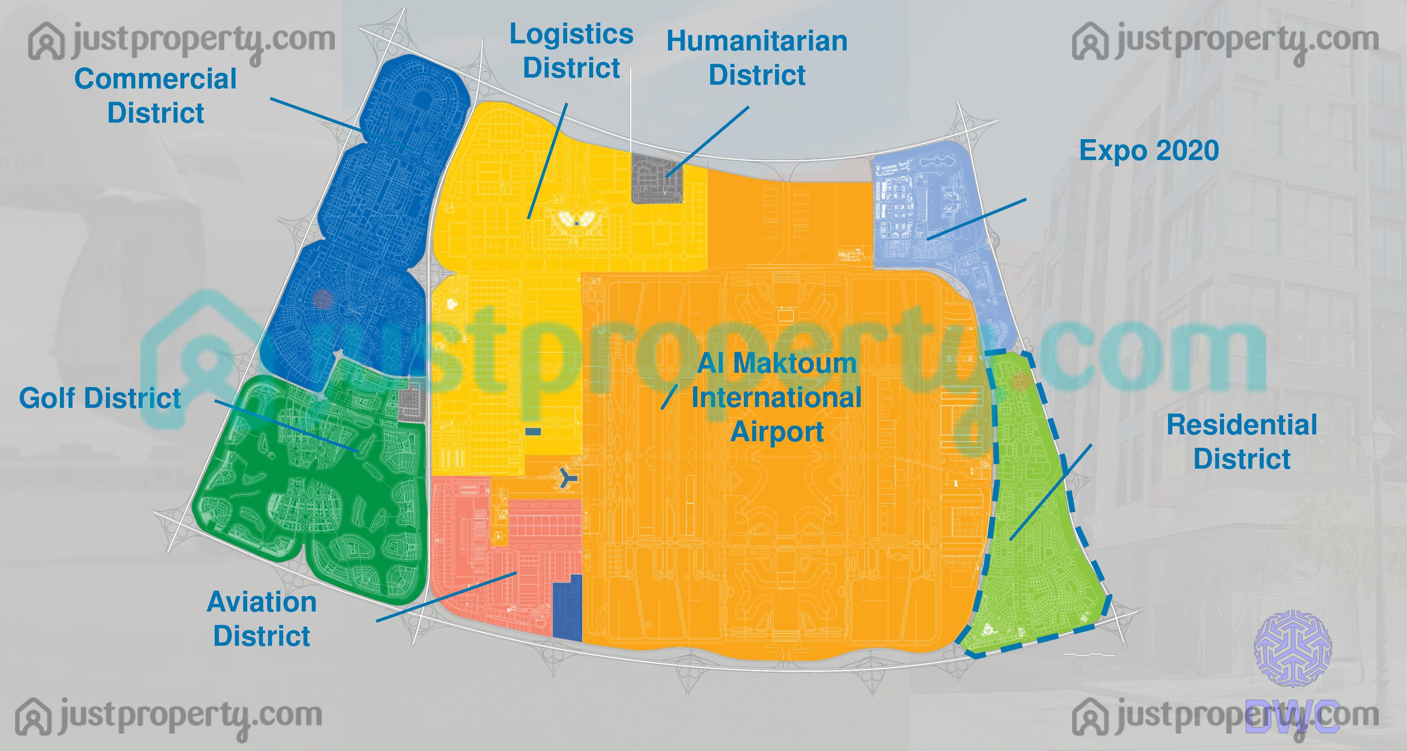 Floor Plans for Dubai World Central (DWC)