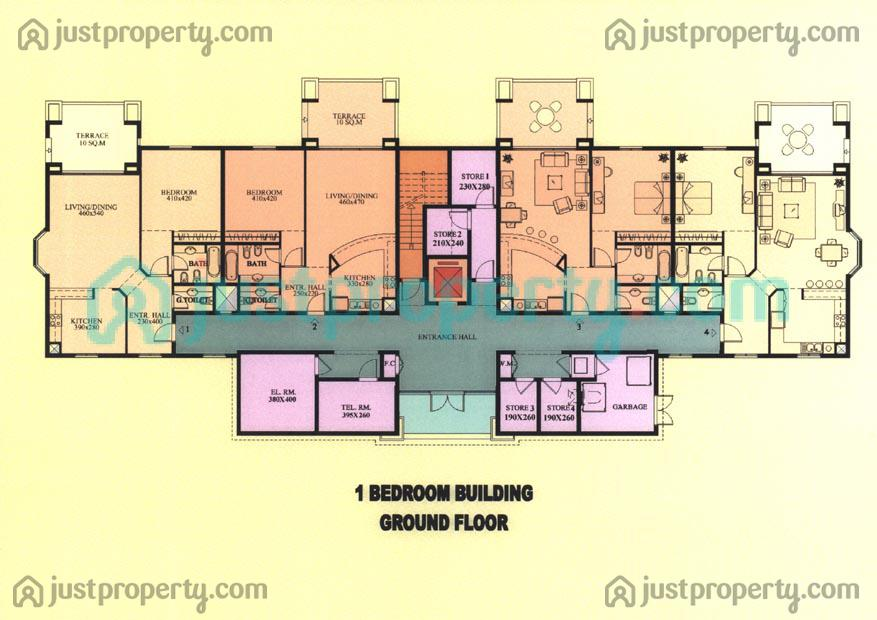 Floor Plans For Apartment Building