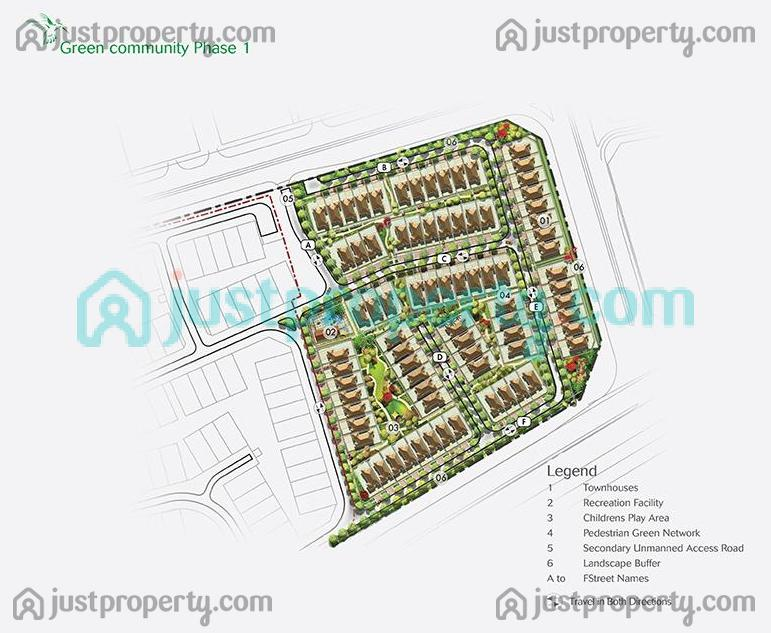 Floor Plans for Green Community