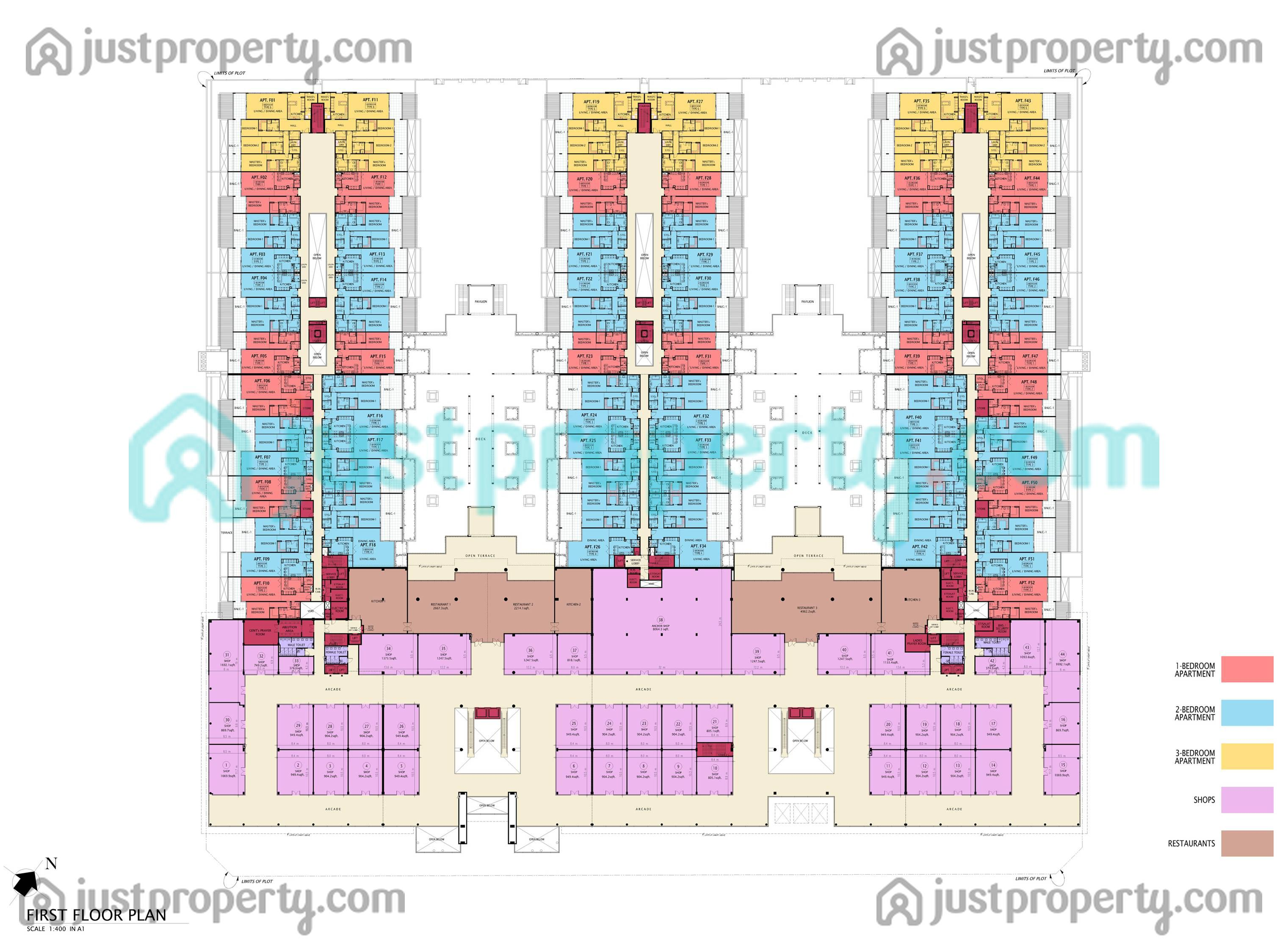 Floor Plans For Sunset Mall