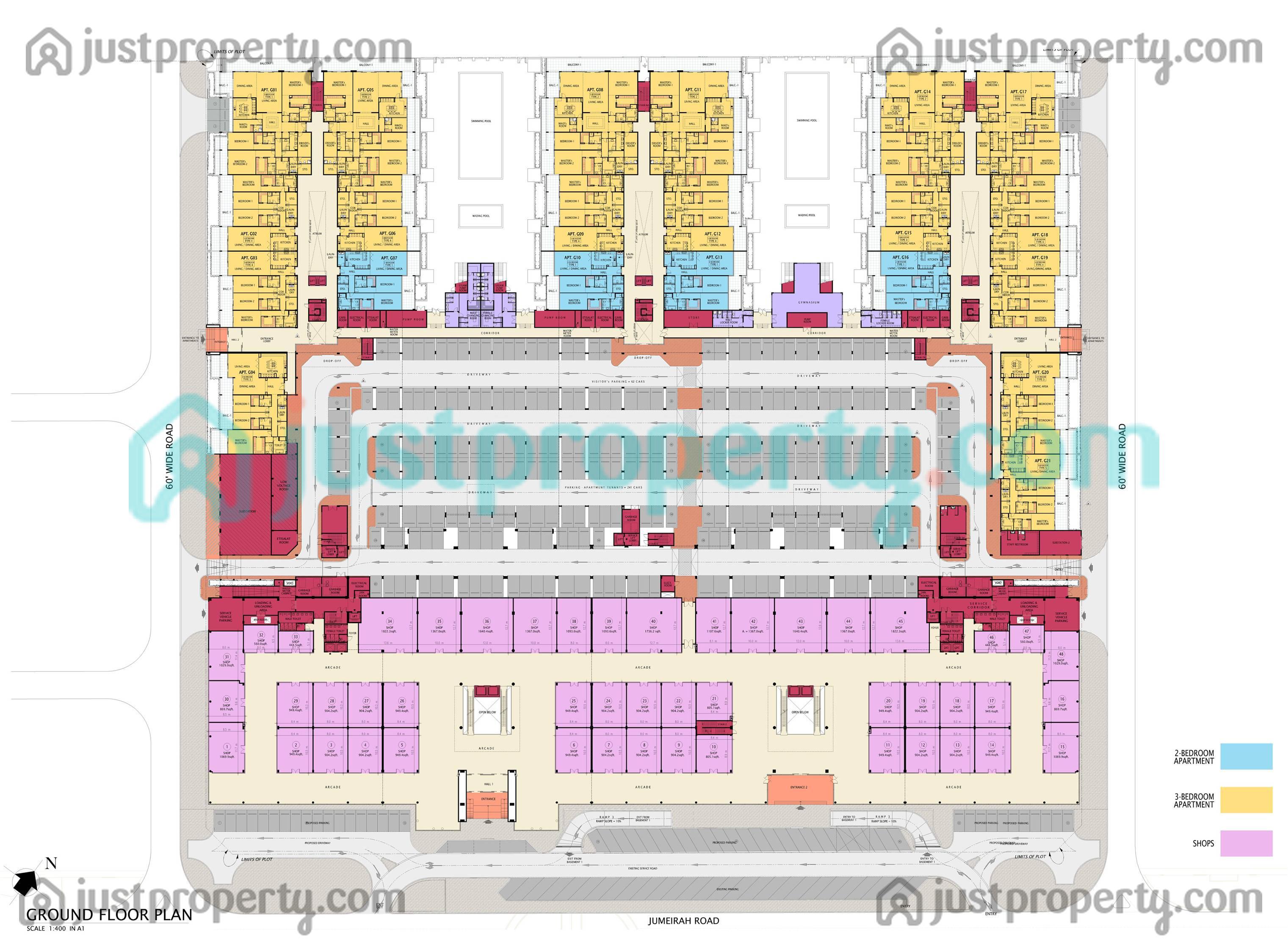 Floor Plans For Sunset Mall