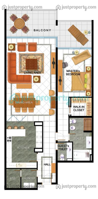 Floor Plans For Sunset Premium Apatments