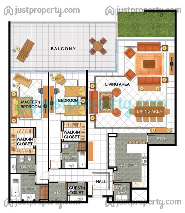 Sunset Oaks Apartments: Sunset Mall Dubai Apartments Rent