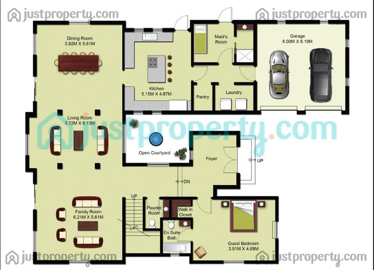 Olive point villas floor plans for Floor plans jumeirah golf estates