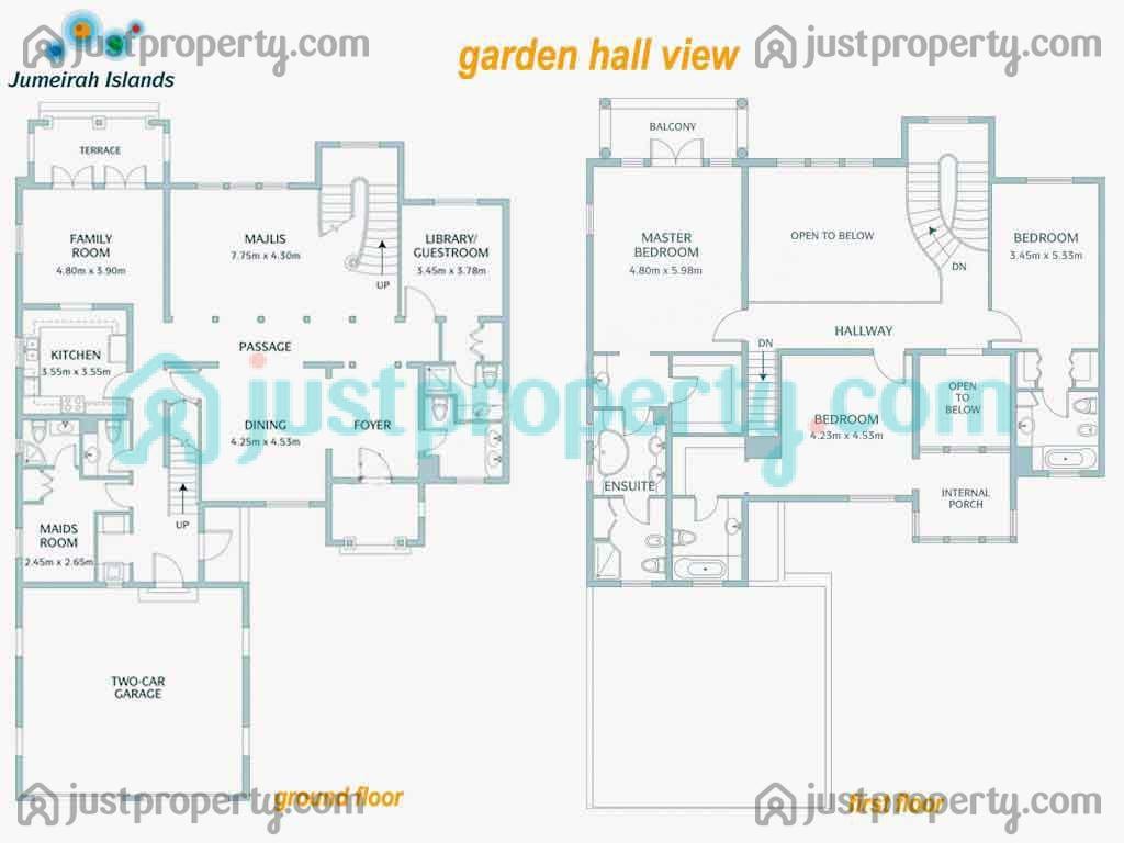 Islamic style floor plans for Floor plans jumeirah islands
