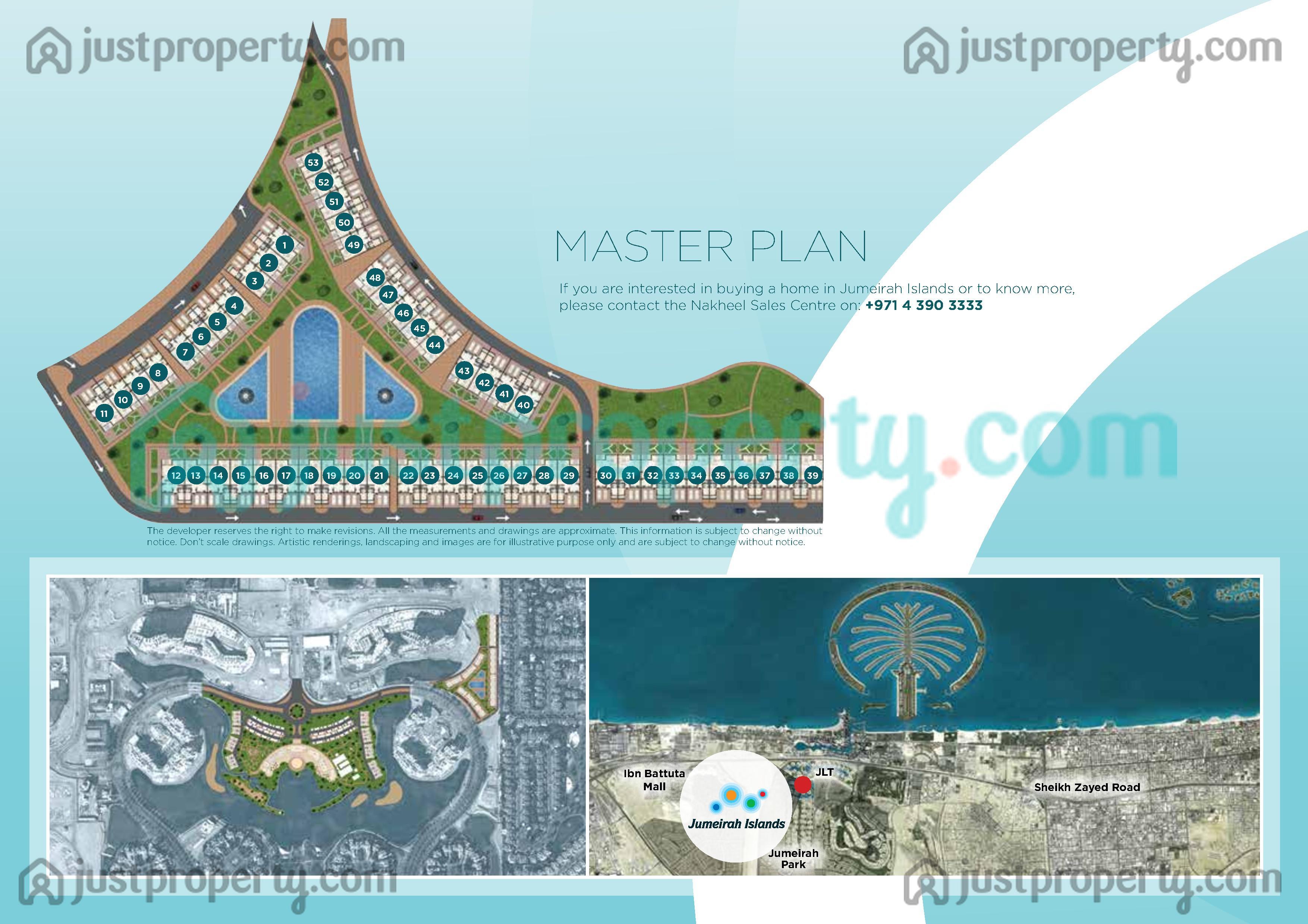 Jumeirah islands townhouses for Floor plans jumeirah islands
