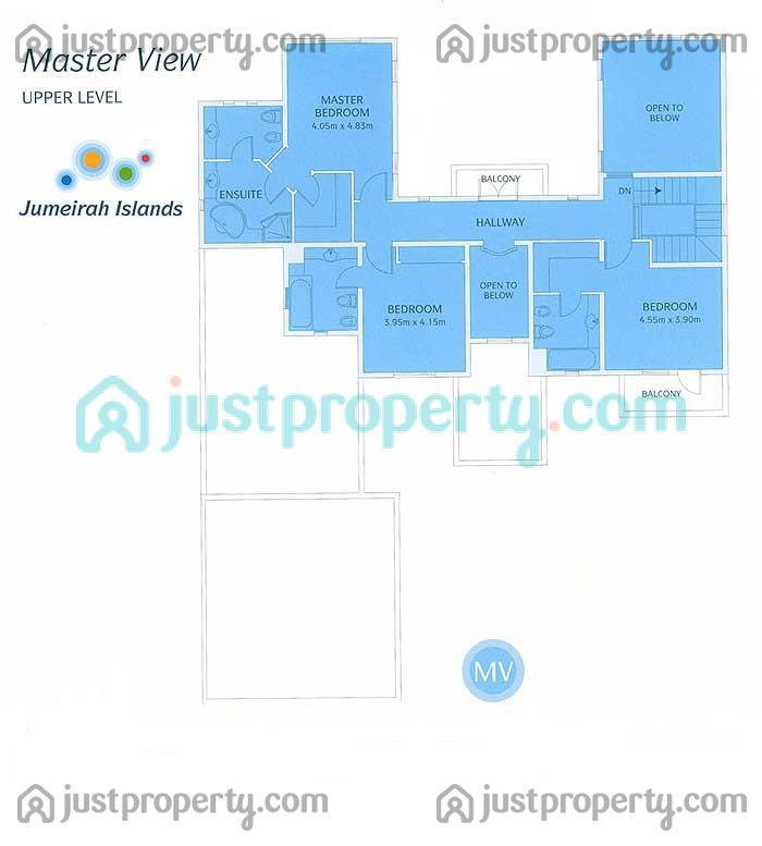 Master view floor plans for Floor plans jumeirah islands