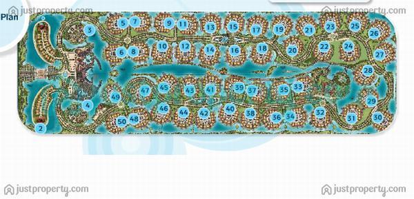 Floor Plans for Jumeirah Islands