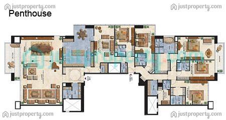 Al Seef Tower 3 Floor Plans Justproperty Com