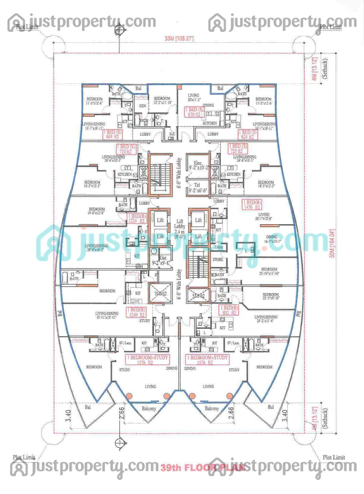 Concorde Tower Master Plans Floor Plans Justproperty Com