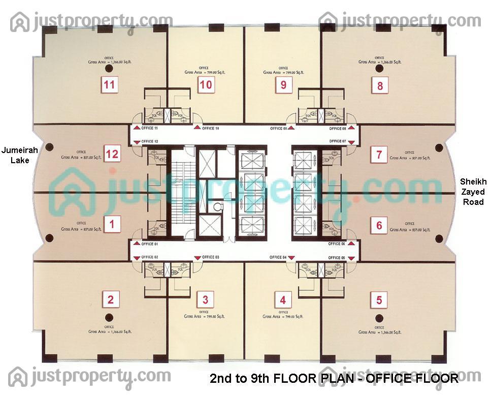 goldcrest executive floor plans justproperty com
